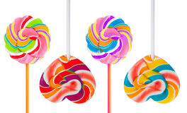 Pirulito colorido Foto de Stock Royalty Free
