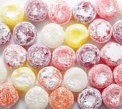 Pirulitos coloridos doces dos doces Foto de Stock Royalty Free