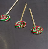 Pirulitos coloridos saborosos Imagem de Stock