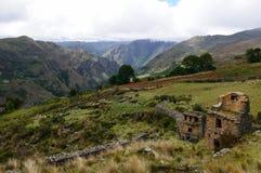 Piruro pre Columbian ruins near Tantamayo, Peru, Royalty Free Stock Image