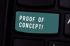 Pisać nutowym pokazuje dowodzie pojęcie Biznesowa fotografia pokazuje dowód typowo czerpie od eksperymentu lub projekta obrazy stock