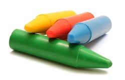pisać kredą barwionego Obrazy Stock