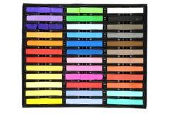 pisać kredą barwionego set Obrazy Stock