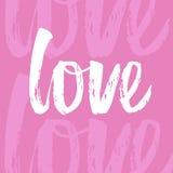 Pisać list miłości Fotografia Stock