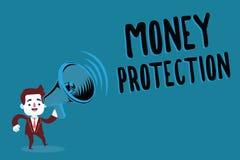 Pisać nutowej pokazuje pieniądze ochronie Biznesowa fotografia pokazuje gacenia do wynajęcia pieniądze dzierźawca płaci ziemianin obraz stock
