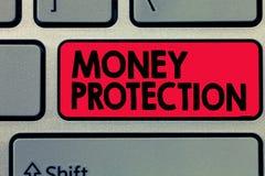 Pisać nutowej pokazuje pieniądze ochronie Biznesowa fotografia pokazuje gacenia do wynajęcia pieniądze dzierźawca płaci ziemianin zdjęcie stock