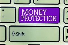 Pisać nutowej pokazuje pieniądze ochronie Biznesowa fotografia pokazuje gacenia do wynajęcia pieniądze dzierźawca płaci ziemianin zdjęcie royalty free