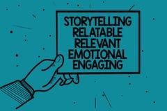 Pisać nutowej pokazuje relaci Relatable Istotny Emocjonalny Angażować Biznesowa fotografia pokazuje część wspominek bajek mężczyz ilustracji