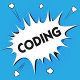 Pisać nutowym pokazuje cyfrowaniu Biznesowa fotografia pokazuje wyznaczający kod coś dla klasyfikacyjnej identyfikaci ilustracji