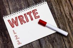 Pisać nutowym seansie Pisze Biznesowa fotografia pokazuje ocenę pisze list słowa lub symbole na powierzchni typowo tapetować z pi zdjęcie royalty free