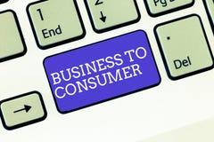 Pisać nutowym seansu biznesie konsument Biznesowa fotografia pokazuje Bezpośrednią transakcję między firmą i użytkownikami końcow obrazy royalty free