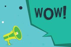 Pisać nutowym seansu no! no! Biznesowa fotografia pokazuje Rewelacyjnego sukcesu odciśnięcie i ekscytuje someone Ekspresowa admir ilustracji