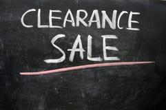 pisać poremanentowa blackboard sprzedaż Obrazy Stock