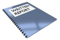 PISAĆ raportu pojęcie Zdjęcie Royalty Free