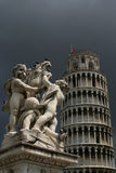 Pisa. Leaning Tower of Pisa, Italy, church complex and tower, cathedral Royalty Free Stock Photos