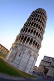 Pisa. Tower of pisa by blue sky royalty free stock photography