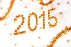 2015 pisać Obrazy Stock