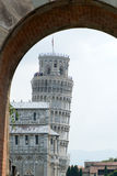 Pisa. Famous Leaning Tower of Pisa royalty free stock photography