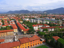 Pisa from above (2). View of Pisa from the Tower (2 Royalty Free Stock Images