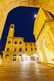 Pisa architecture with the clock tower Stock Photography