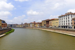 Pisa: the Arno river Royalty Free Stock Photo