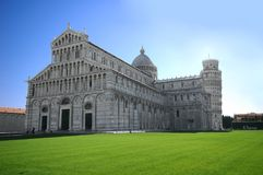 Pisa attraction monument Stock Photos