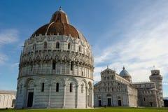 Pisa Bapistery Stockfotos