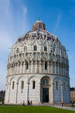 Pisa, Baptisery, Dome Stock Images