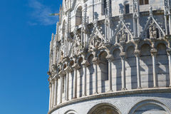 Pisa Baptisery View Royalty Free Stock Image