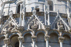 Pisa Baptisery View Royalty Free Stock Photography