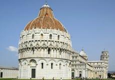 Pisa-Baptisterium von Johannes, Italien, Toskana Lizenzfreie Stockfotos