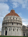 Pisa - Baptistery  and Duomo Stock Photography