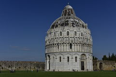 Pisa Baptistery, Italy Stock Images