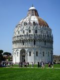 Pisa Baptistery of Saint John Stock Photo