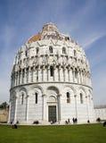 Pisa - baptistery of st. John Royalty Free Stock Image