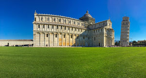Pisa Baptistery of St.John, Battistero di San Giovanni with Pisa Stock Photography