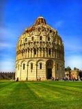 Pisa Baptistery Stock Image