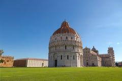 Pisa Baptistery St John, rzymianin (Battistero Di San Giovanni) Obrazy Royalty Free