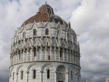 Pisa Baptistery St John, Tuscany Włochy Fotografia Royalty Free