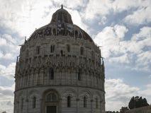 Pisa Baptistery St John, Tuscany Włochy Fotografia Stock