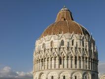 Pisa Baptistery St John, Tuscany Włochy Zdjęcia Royalty Free