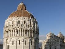 Pisa Baptistery St John w Pisa, Tuscany Włochy Zdjęcie Royalty Free