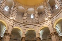 Pisa Baptistery wnętrze Zdjęcia Royalty Free
