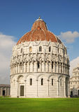 Pisa. Baptistry Cathedral, Italy Stock Photos
