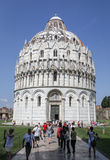 Pisa Baptistry Stock Photography