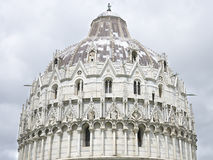 Pisa Baptistry,  Pisa, Italy Stock Images