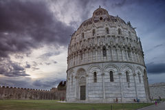 Pisa Baptistry of St. John, Italy Royalty Free Stock Photography