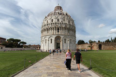 Pisa Baptistry of St. John Royalty Free Stock Photos