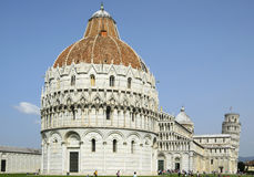Pisa Baptistry of St. John, Italy, Tuscany Royalty Free Stock Photos