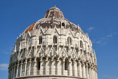 Pisa Baptistry, Tuscany, Italy Royalty Free Stock Images